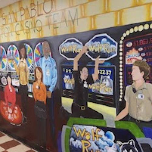 San Pablo Lytton Casino Mural
