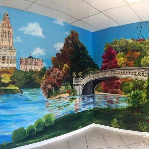 Bay Area Corporate Mural Design