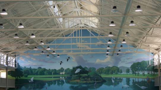 Interior Swimming Pool Public Recreational Center
