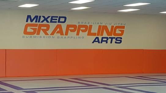 Mixed Grappling Logo