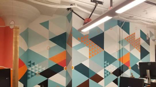 Mural in San Francisco Startup